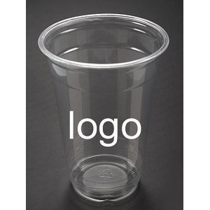 22oz Disposable Clear Plastic Cold Beverage Cup