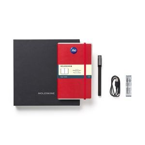 Moleskine® Smart Writing Set Ellipse - Ruled Paper Red